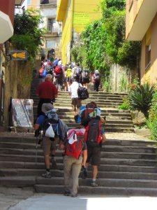 More Spanish steps