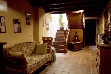 rustic house interior