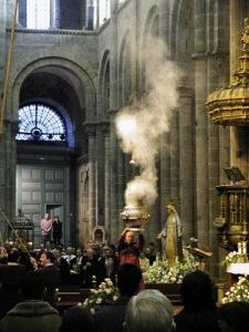 Botafumeiro de Santiago de Compostela