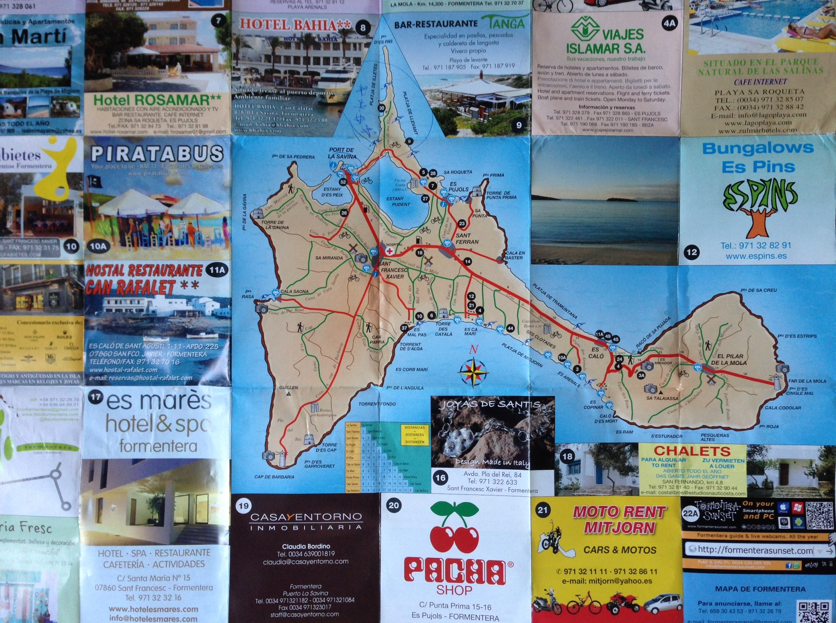 map formentera Creative Travel
