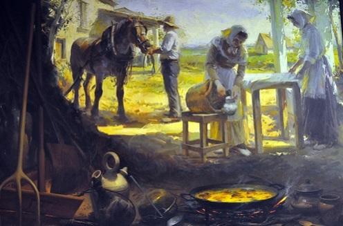 tradicional paella